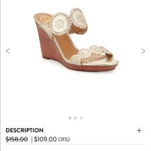 Jack Rogers Luccia Wedges | NEVER WORN! BRAND NEW!